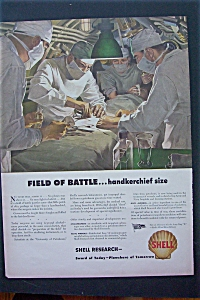 1943 Shell Research With Doctor In Middle Of Operation