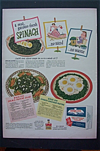 1943 Birds Eye Frosted Foods