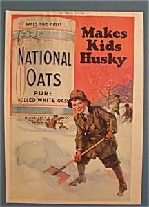 Vintage Ad: 1919  National  Oats (Image1)