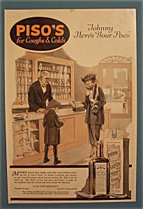 1920  Piso's For Coughs & Colds (Image1)