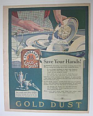 1924 Fairbank's Gold Dust Washing Powder with Dishes (Image1)