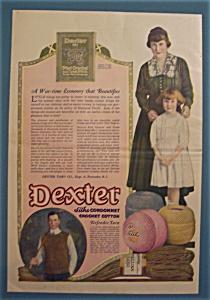 1918  Dexter Silko Cordonnet Crochet Cotton Yarn (Image1)