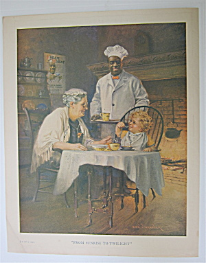 1924 Cream Of Wheat Cereal with Woman & Baby  (Image1)