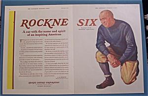 1931 Rockne Six with Knute Rockne (Image1)