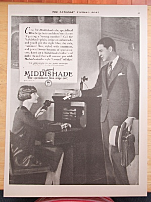 1928 Fadeproof Middishade Suit with the Blue Serge Suit (Image1)