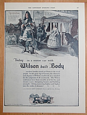 1924 Wilson Body Company with Woman & Carriage  (Image1)