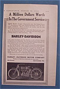 1913 Harley-Davidson Motorcycle with Motorcycle (Image1)