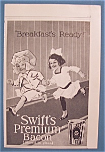 Vintage Ad: 1914 Swift Premium Bacon