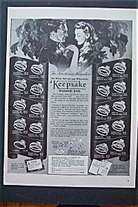 1943 Keepsake Diamond Ring with Different Diamond Rings (Image1)