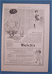1913 Welch's Grape Juice