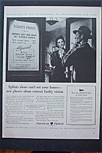 1943 American Optical with Woman Showing Man Prices (Image1)