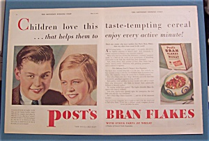 1930  Post's  Bran  Flakes (Image1)