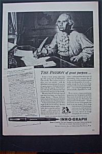 1943 Ink-O-Graph with Man Writing A Letter (Image1)