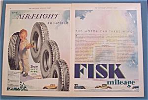 Vintage Ad: 1930  Air - Flight  Principle (Image1)