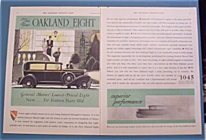 Vintage Ad: 1930 Oakland Eight