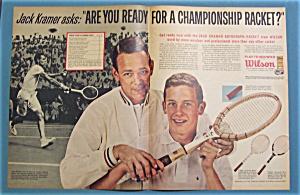 1963 Wilson Tennis Racket w/ Jack Kramer (Image1)