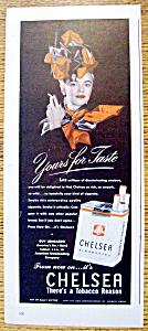 Vintage Ad: 1946 Chelsea Cigarettes (Image1)
