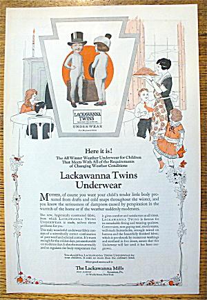 1923 Lackawanna Twins Underwear w/ Boy & Girl (Image1)