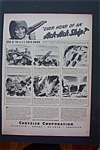 1943 Chrysler Corporation w/Saga of U.S.S. South Dakota (Image1)
