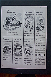1943 Chrysler Corporation w/a Tank and Hitler (Image1)