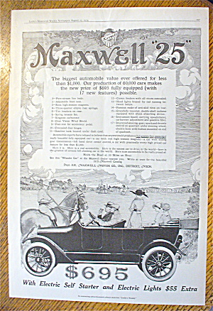1914 Maxwell 25 With The Biggest Automobile Value Ever