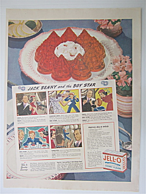 1937  Jell-O with Jack Benny & The Boy Star  (Image1)
