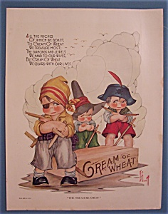 Vintage Ad: 1924 Cream Of Wheat Cereal By J. G. Scott