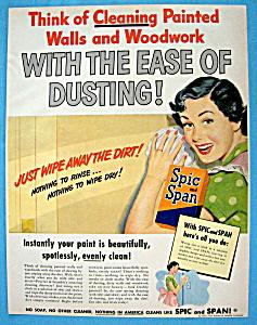 Vintage Ad: 1949  Spic & Span (Image1)