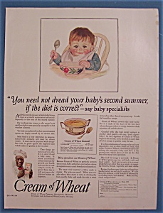 1924 Cream Of Wheat Cereal