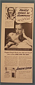 Vintage Ad: 1938 Jergens Lotion With Luli Deste