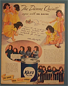 1937  Karo Syrup with The Dionne Quints (Image1)