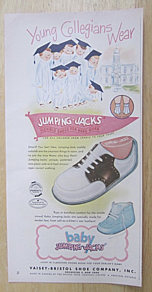 1950 Baby Jumping Jacks with Young Collegians Wear (Image1)