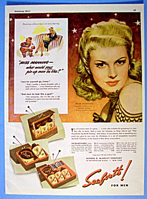 1943 Seaforth For Men With Irene Manning (Desert Song)