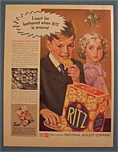 1937 Ritz Crackers