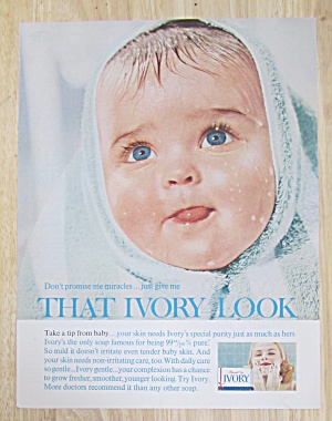 1963 Ivory Soap with Baby's Head Wrapped in a Towel (Image1)