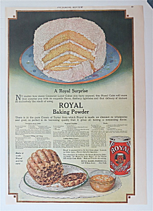 1919 Royal Baking Powder With A Royal Surprise