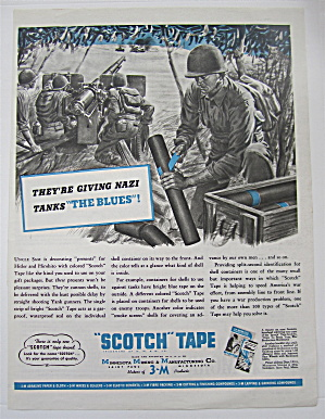 1943 Scotch Tape with Giving Nazi Tanks The Blues  (Image1)