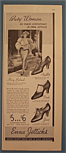 Vintage Ad: 1935 Enna Jetticks With Mary Boland
