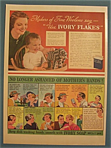 1935 Ivory Flakes & Soap