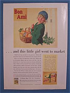 Vintage Ad: 1930 Bon Ami Cleanser (Image1)