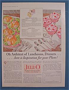 Vintage Ad: 1928 Jell-O Gelatin Dessert By Giro (Image1)