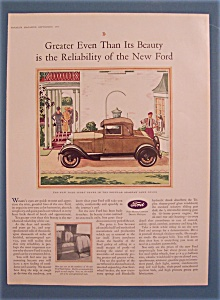 Vintage Ad: 1928 Ford Sport Coupe