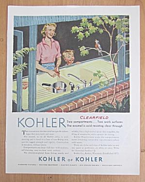 1956 Kohler of Kohler with Woman & Boy Looking at Bird (Image1)