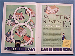 1930 Dutch Boy White Lead Paint with 8 Painters (Image1)