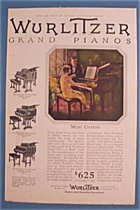 Vintage Ad: 1926 Wurlitzer Grand Pianos (Image1)