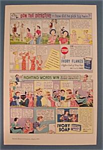 Vintage Ad: 1936  Ivory Soap & Flakes (Image1)