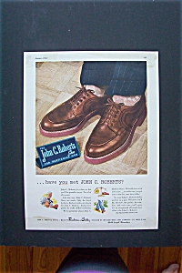 1947 John C. Roberts Shoes with a Pair of Shoes  (Image1)