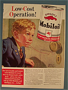 Vintage Ad: 1940 Gargoyle Mobiloil By Frederic Stanley (Image1)