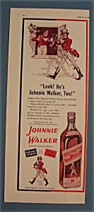 Vintage Ad: 1942 Johnnie Walker Red Label Whiskey (Image1)