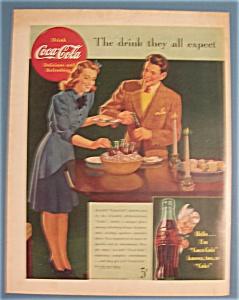 Vintage Ad: 1942 Coca - Cola (Image1)